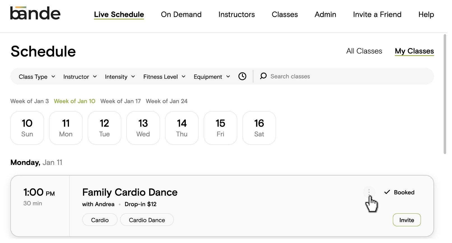 schedule 1b